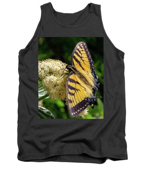 Fuzzy Butterfly Tank Top