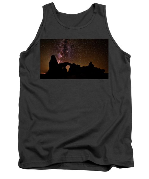 Tank Top featuring the photograph Galactic Turret Arch by Andy Crawford