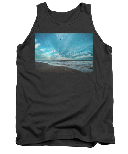 Galveston Island First Light Tank Top