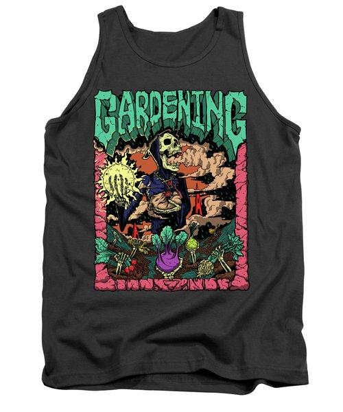 Gardening Full Color Shirt Trauma Series  Tank Top