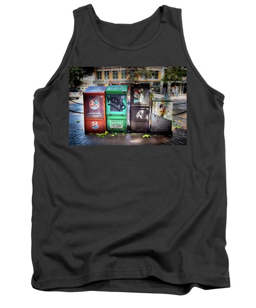 Gastown Street Newsstand Tank Top