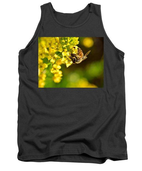 Gathering Pollen Tank Top