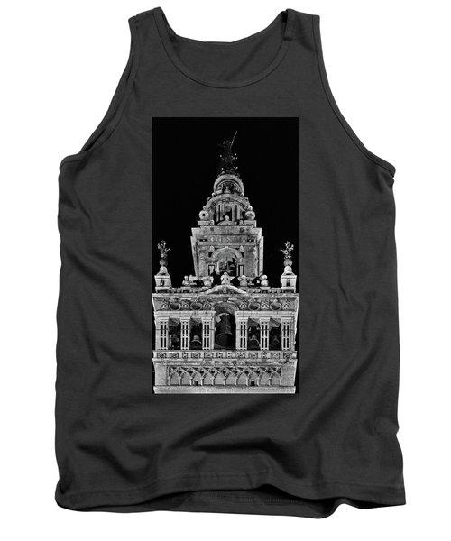 Giralda Tower In Monochrome. Seville Tank Top