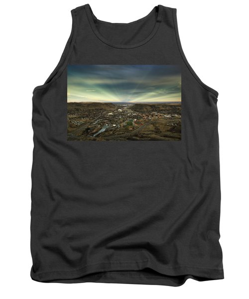 Go East Young Man Tank Top