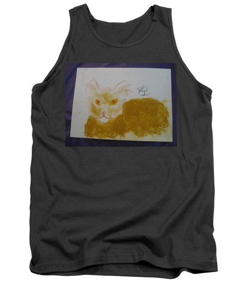 Golden Cat Tank Top
