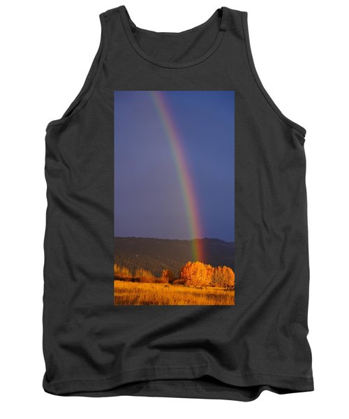 Golden Tree Rainbow Tank Top