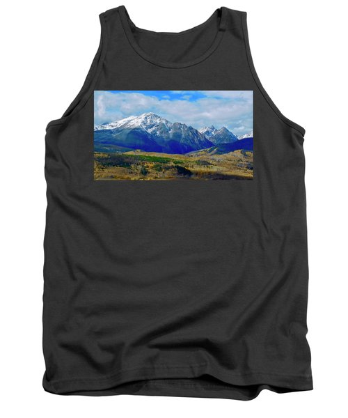 Tank Top featuring the photograph Gore Mountain Range by Dan Miller