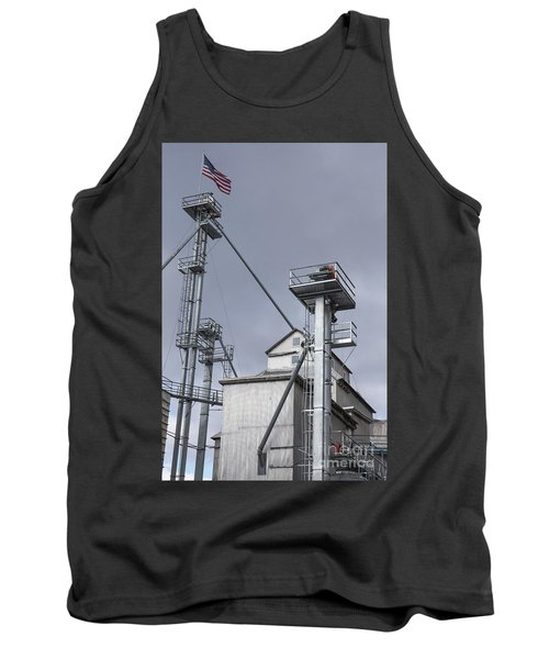 Grain And Feed Silos Bethel Vermont Tank Top