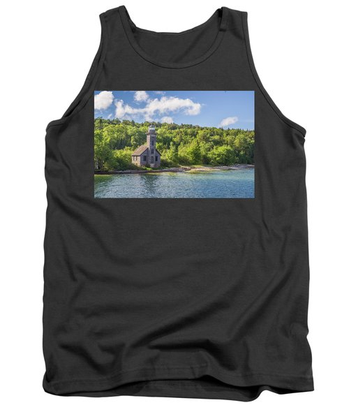 Grand Island East Channel Lighthouse Tank Top
