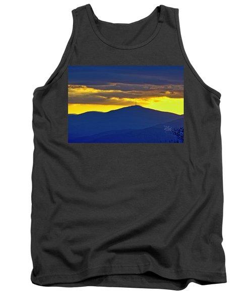 Grandmother Mountain Sunset Tank Top
