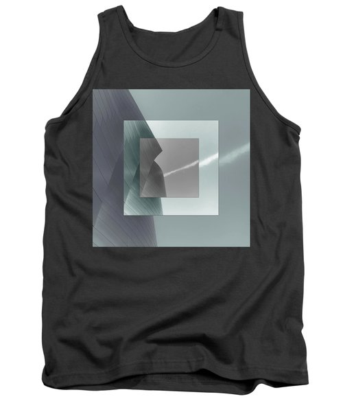 Green Gehry Tank Top