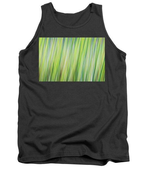 Green Grasses Tank Top
