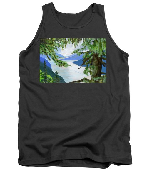 Guided Through The Fjords Tank Top