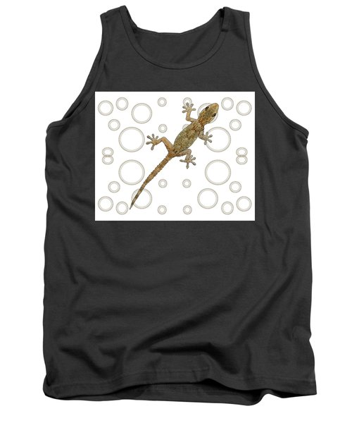 H Is For House Gecko Tank Top