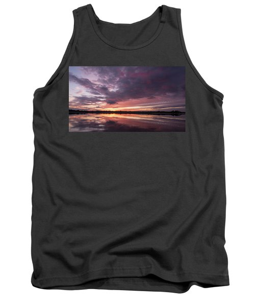 Halifax River Sunset Tank Top