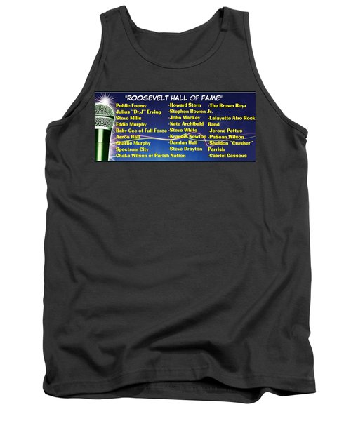Hall Of Fame, Roosevelt, Ny Alums Tank Top