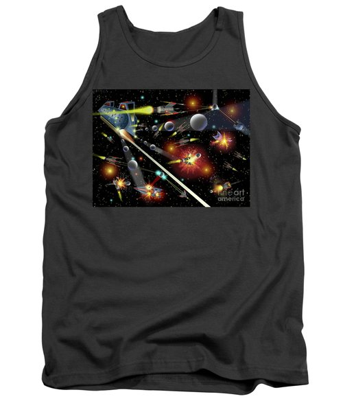Hell In Space Tank Top