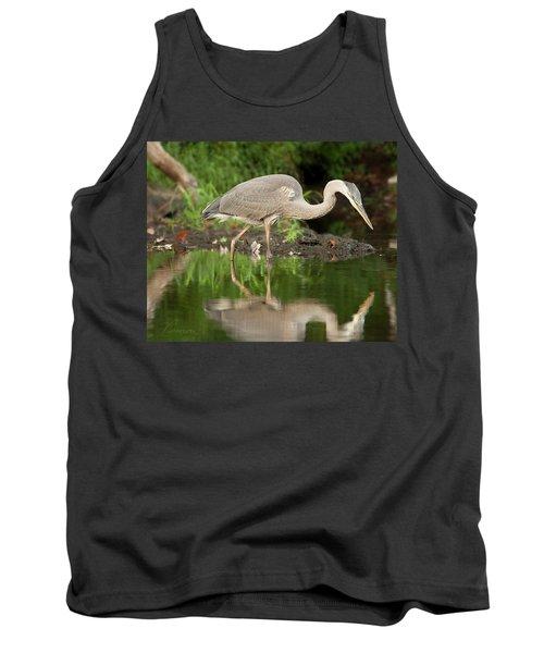 Heron Fishing Tank Top