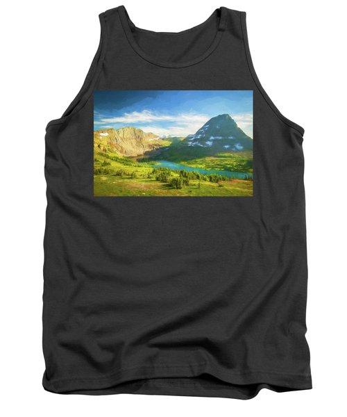 Hidden Lake Glacier National Park 101 Tank Top
