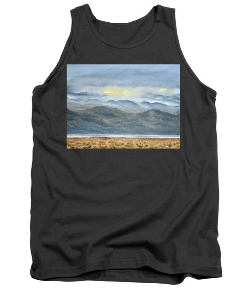 Tank Top featuring the painting High Desert Morning by Kevin Daly