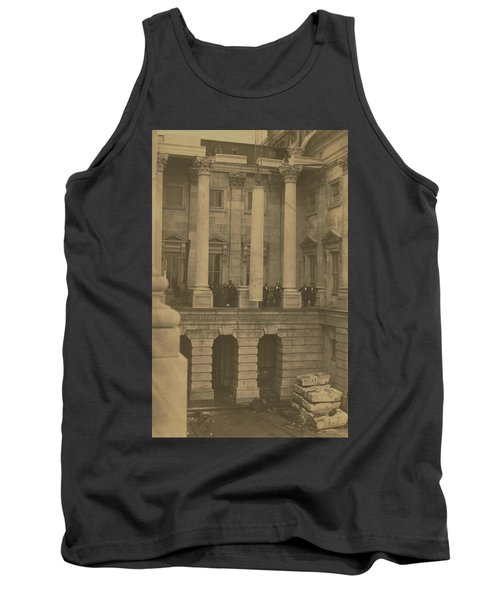 Hoisting Final Marble Column At United States Capitol Tank Top