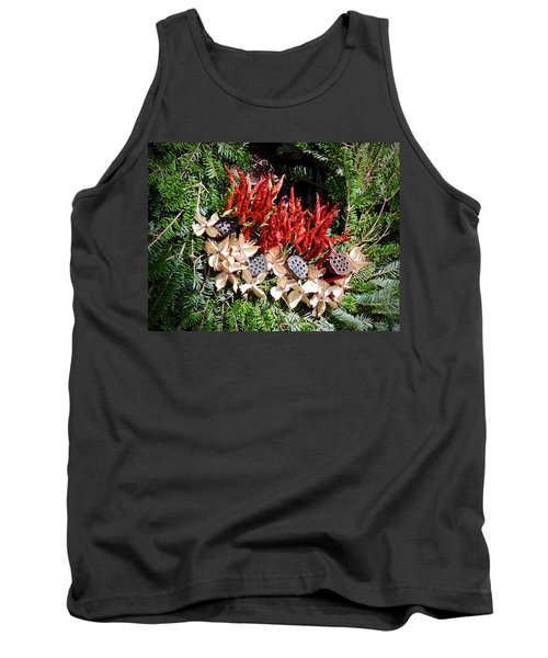 Holiday Peppers Tank Top