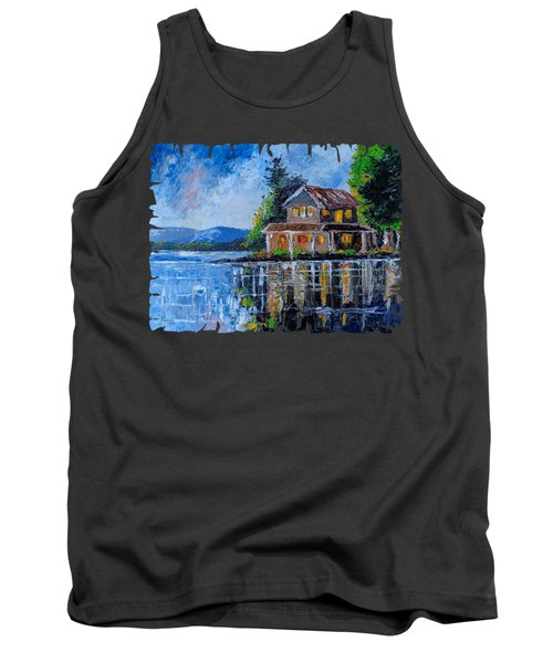 Home By The Lake Tank Top