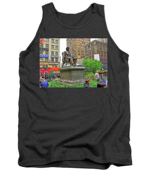 Horace Greelly, First President Of Typographic Union Of New York City Tank Top