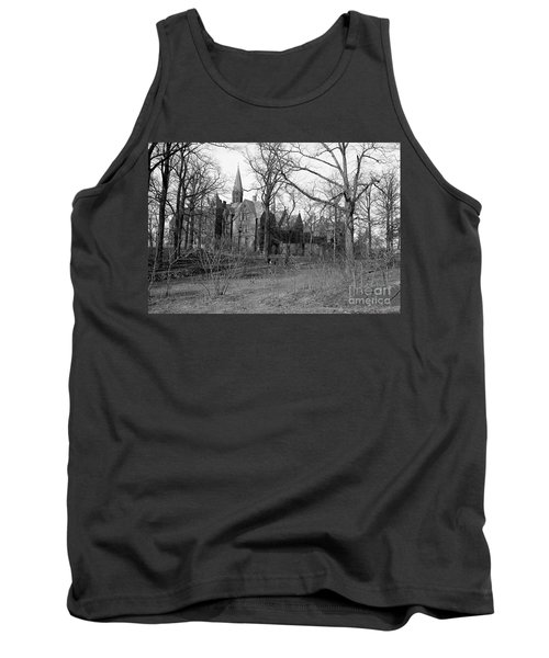 Tank Top featuring the photograph House Of Mercy  by Cole Thompson