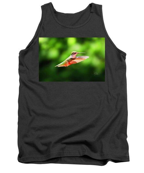 Hummingbird Flying Tank Top
