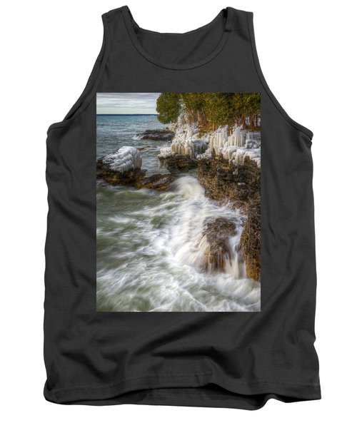 Ice And Waves Tank Top