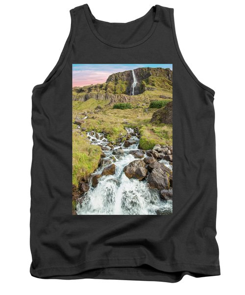 Iceland Waterfall Tank Top