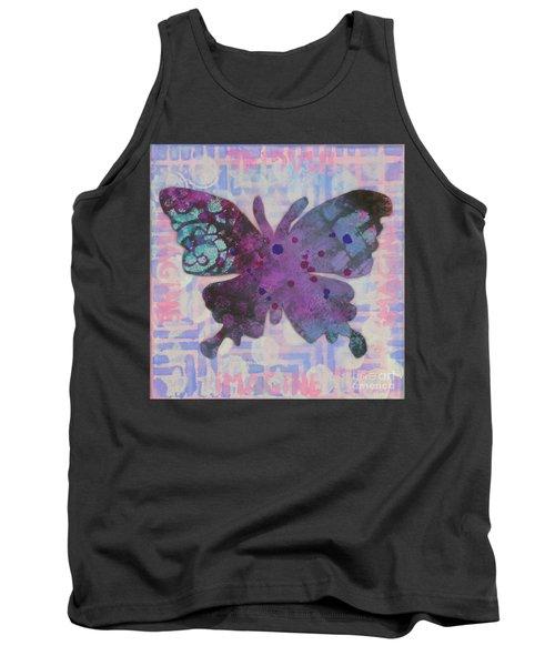 Imagine Butterfly Tank Top