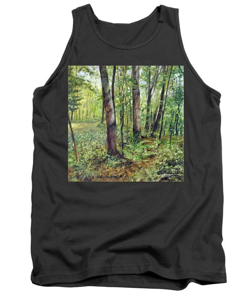 In The Shaded Forest  Tank Top