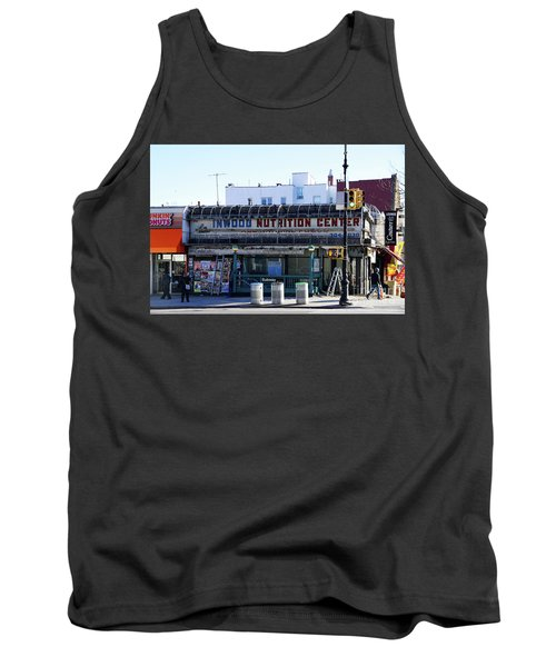 Tank Top featuring the photograph Inwood Nutrition Center by Cole Thompson