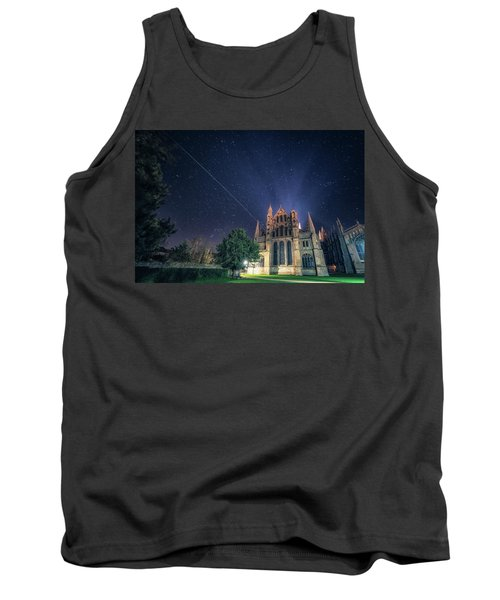 Iss Over Ely Cathedral Tank Top
