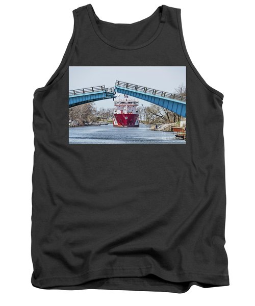 Iver Bright Tanker Visits Manistee Tank Top