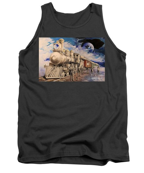 Journey Through The Mists Of Time Tank Top