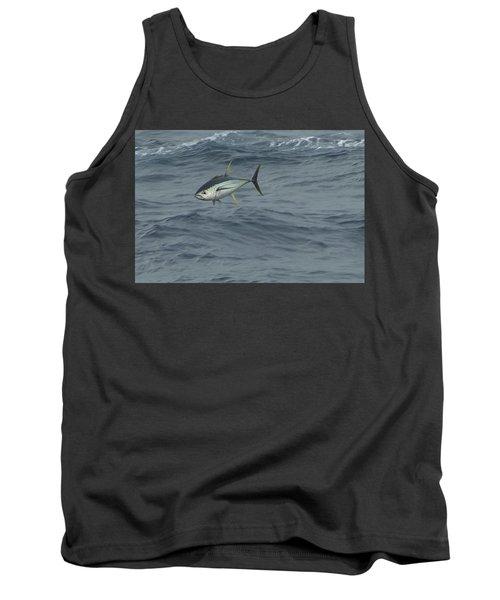 Jumping Yellowfin Tuna Tank Top