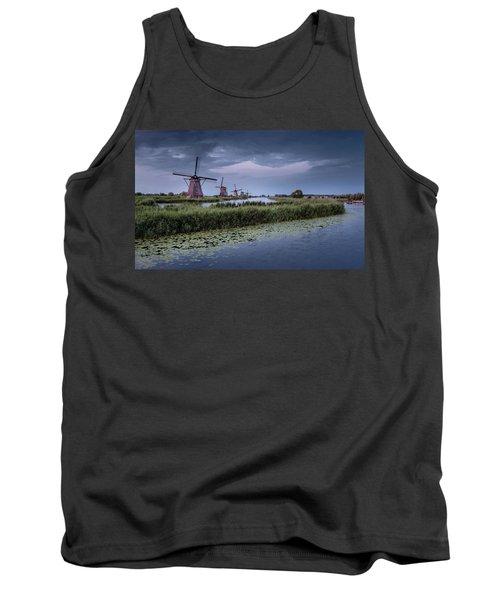 Kinderdijk Dark Sky Tank Top