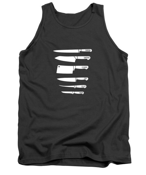 Kitchen Art Knife Guide Tank Top