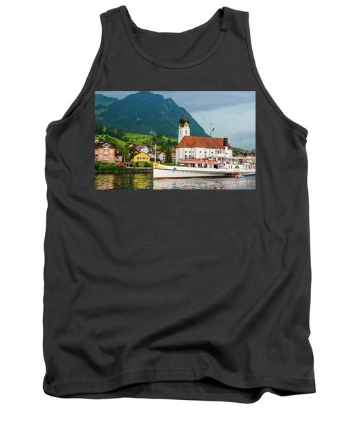 Lake Lucerne Steamer Tank Top