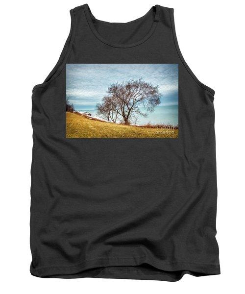 Lakeshore Lonely Tree Tank Top