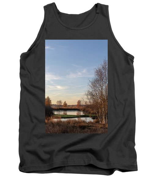 Tank Top featuring the photograph Landscape Scenery by Anjo Ten Kate