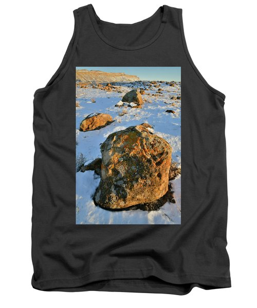 Last Light Of The Day In The Book Cliffs Tank Top
