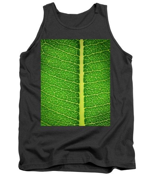 Leafy Detail Tank Top