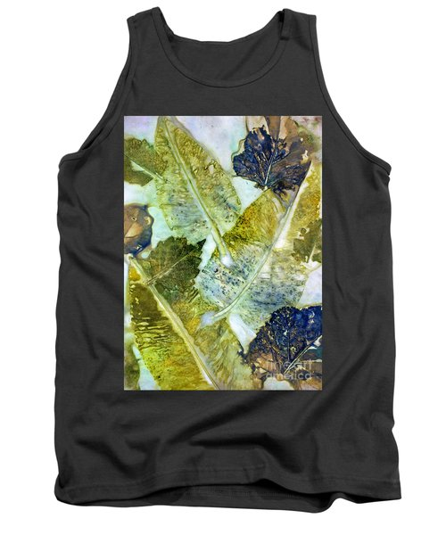 Leaves Of Nature Eco Dyed Print Tank Top
