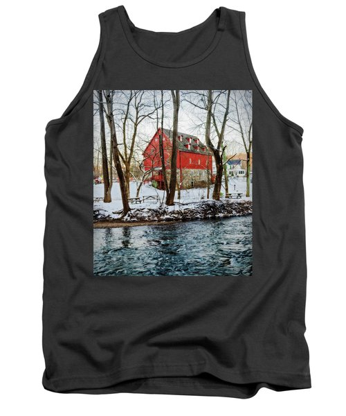Lee's Merchant Mill With Snow Tank Top