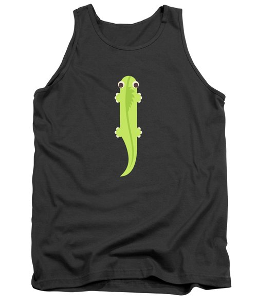 Letter I - Animal Alphabet - Iguana Monogram Tank Top