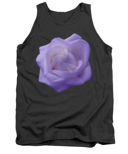 Light Purple Rose Tank Top